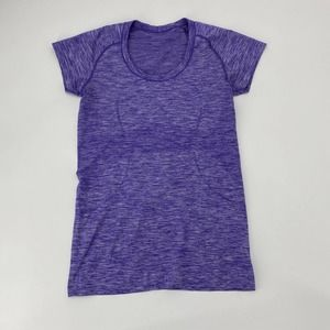 LULULEMON Swiftly Running Short Sleeve Fitted Top